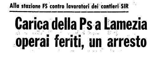 cariche 13 gennaio 78