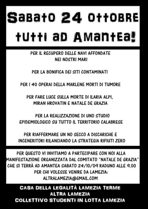 Volantino_Amantea