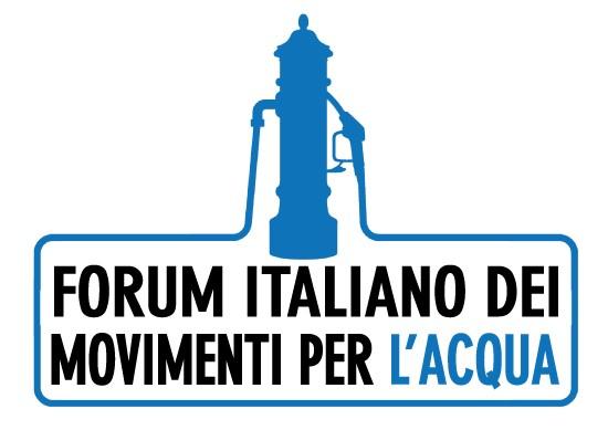 Risultati immagini per FORUM ITALIANO ACQUA